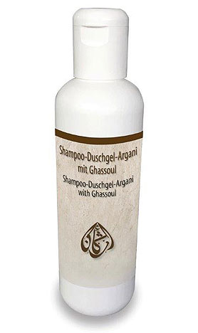 Shampoo-Duschgel- Argani